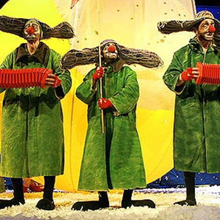 «сНежное шоу» Славы Полунина – это гениально! Фото Павла ДАЦКОВСКОГО