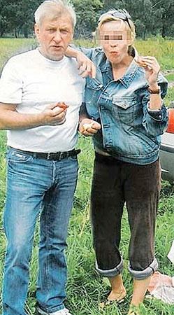 Евгений Борисович со своей гражданской женой Любой. Фото из архива Евгения Пугачева.