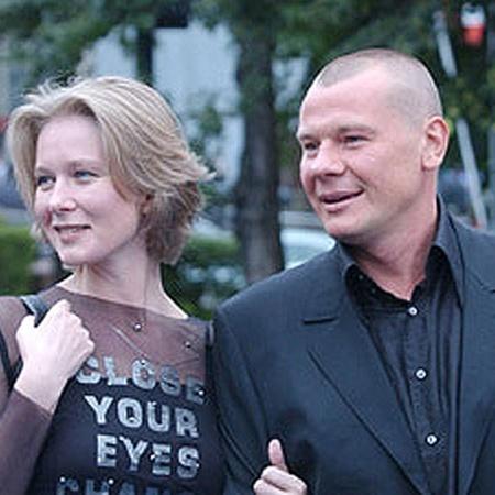 С Дарьей Михайловой актер прожил в браке 12 лет. Фото Милы Стриж.