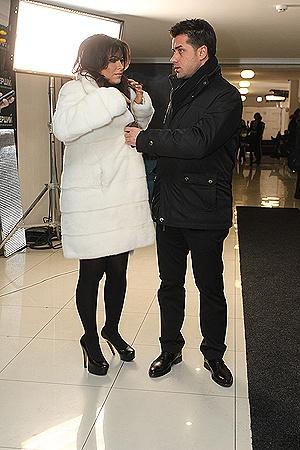 Ани Лорак показала новую шубку, подаренную мужем.