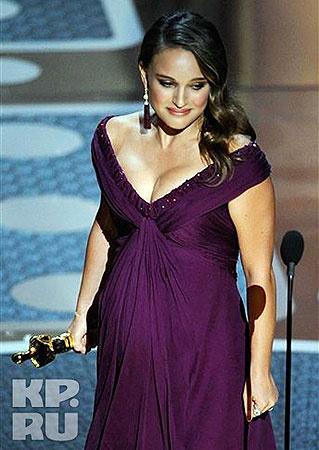 Победительница в номинации «Лучшая женская роль» Натали Портман. Фото АП.
