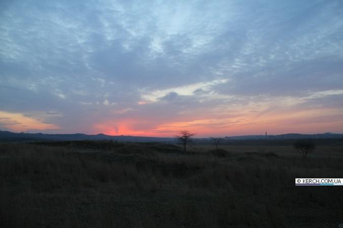 Фотографии смерча над Керчью