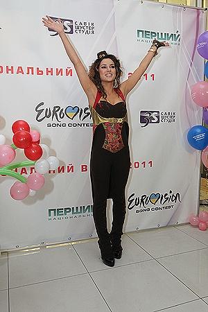 У Златы Огневич появился второй шанс поехать на «Евровидение». Фото Артема ПАСТУХА.