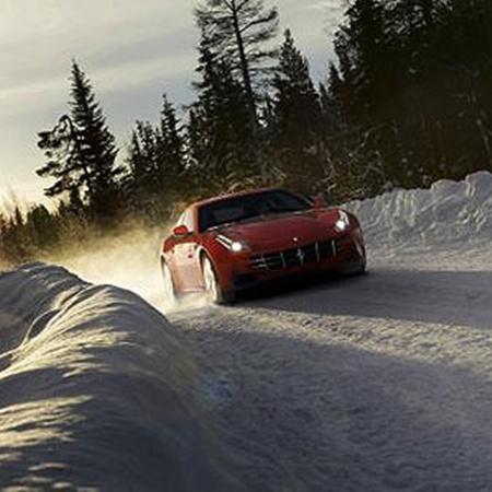 Ferrari Four приспособлена для сурового климата.