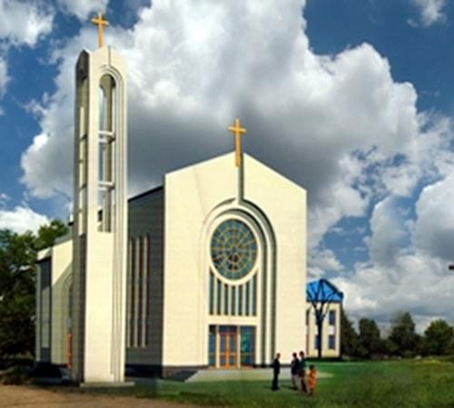 В Мариуполе появится Римско-католическая церковь. Фото: www.dabk.dn.ua.
