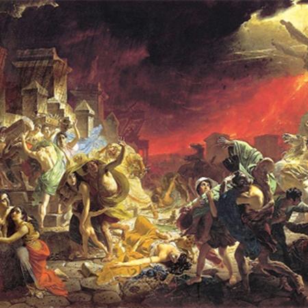 Последний день Помпеи. 1827-1833 гг.
