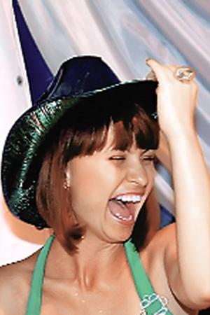 Ирина Москаленко, видимо, обрадовалась новой шляпке.