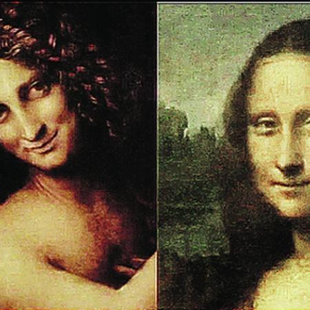 Натурщик и помощник Леонардо служил моделью для Иоанна Крестителя (слева). А для Моны Лизы?