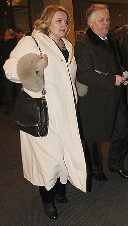 Лидер коммунистов Петр Симоненко с женой Оксаной Ващенко - завсегдатаи «квартала».