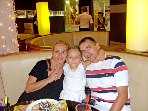 Семья Лены с пониманием относится к ее трудной мужской работе. Фото из личного архива Елены Марункевич.