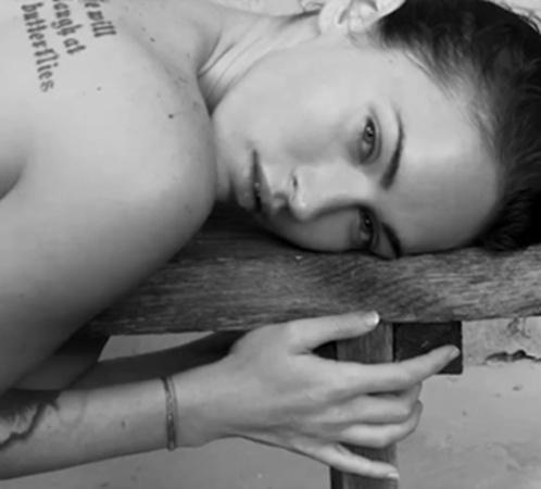 В фотосессии Меган - сама естественность: практически без макияжа. Фото: Splash/All Over Press