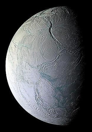 Энцелад - спутник Сатурна.