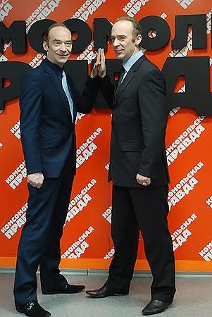 Владимир (слева) и Юрий Торсуевы снова на виду у зрителя. Фото Андрея Гребнева.