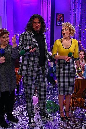 Комплименты дам в адрес Кузьмы не  спасли их пару от вылета из шоу.
