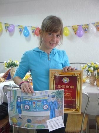 Олеся Дубас уже третий раз выигрывает в конкурсе ГАИ.