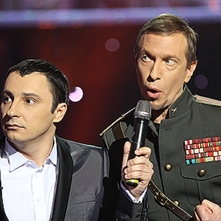 Сергей Соседов бурно реагирует на критику жюри.