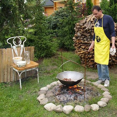 У Игоря Добруцкого после ухода из мэрии появилось больше времени наобустройство садового участка.
