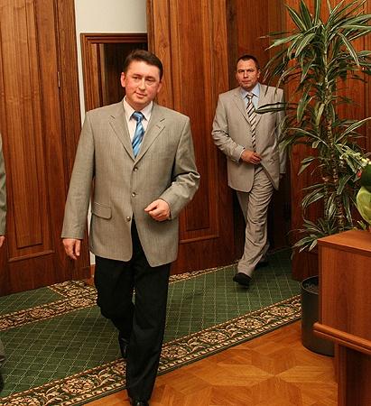 Экс-майор уже не верил, чтоего пленки будут востребованы. Фото было сделано впрезидентском кабинете вовремя следственного эксперимента в 2007 году.