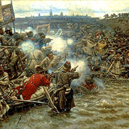 Покорение Сибири Ермаком, 1895 г.