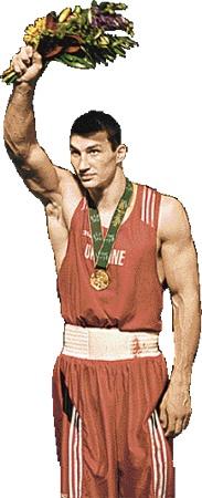 1996 год. Владимир Кличко завоевал для Украины олимпийское «золото».