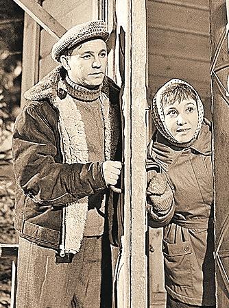 Главные герои фильма (Николай Рыбников и Надежда Румянцева).