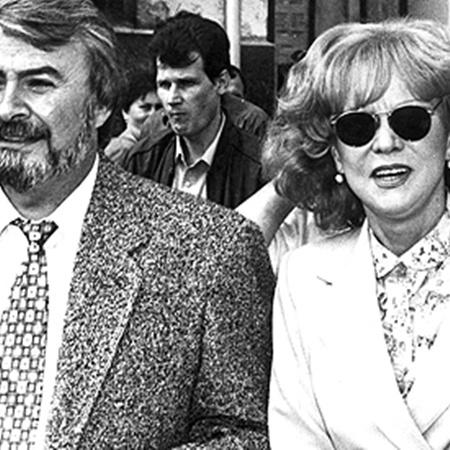 Людмила Гурченко в 1990-е годы с Константином Шердицем.