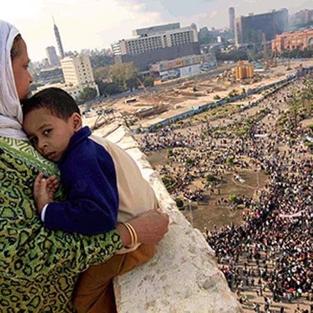 Месяц назад внимание всего мира было приковано к каирской площади Тахрир. Сейчас таких площадей множество...