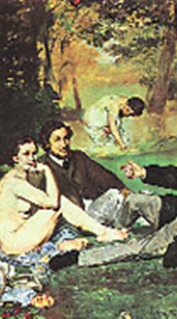 Завтрак на траве. 1863 г.