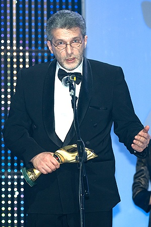 Андрей Куликов, ведущий программы «Свобода слова» на телеканале ICTV - победитель в номинации «Журналист года в области электронных СМИ».