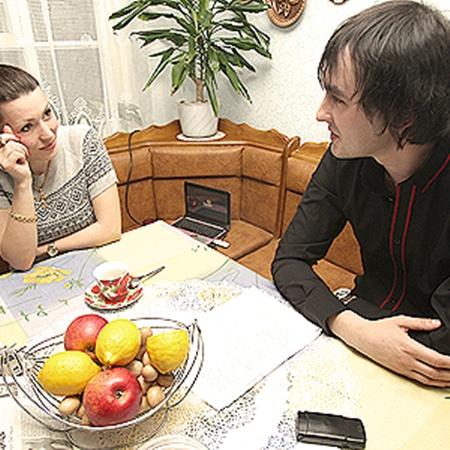 Оксана с корреспондентом