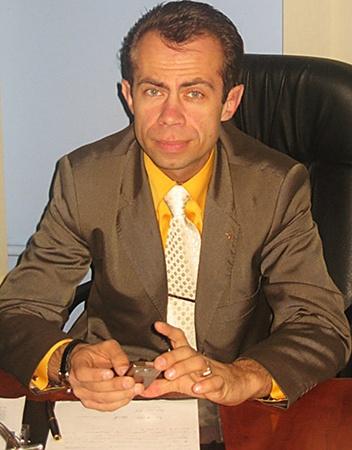 39-летний Владимир Огура – бывший директор школы. Фото пресс-службы Львовского горсовета.