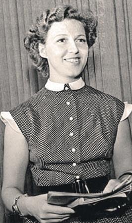 Валентина Леонтьева была одним из любимых дикторов эпохи зарождения телевидения.