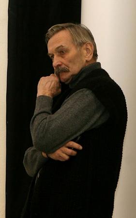 Председатель жюри, актер и ценитель изящных искусств Владимир Талашко. Фото Павла ДАЦКОВСКОГО и предоставлено СТЭМом «Точка опоры».