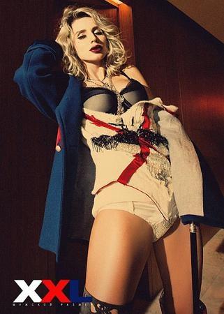 Беременная  Светлана томно прикрывала глаза. Фото XXL production.