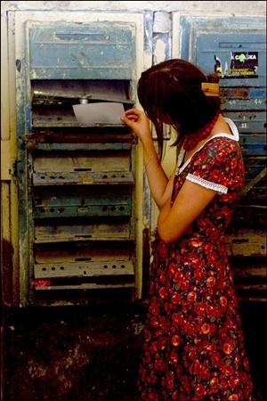 Порой вкладывать корреспонденцию просто некуда.Фото с сайта www.photosight.ru