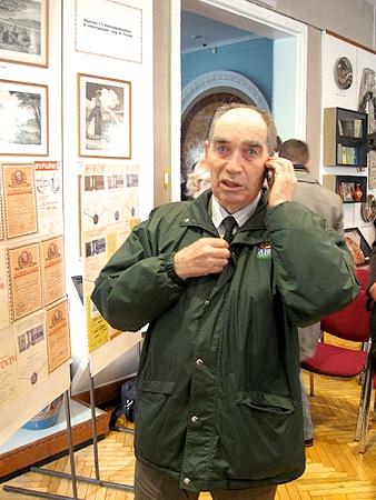 Коллекцией Константина Острийчука заинтересовались москвичи.