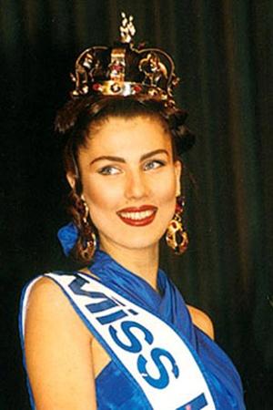 Ирина Черномаз - вторая в истории страны «Мисс Украина». Такой она была в 1992-м... Фото из личных архивов Натальи НАДТОЧЕЙ и Ирины ЧЕРНОМАЗ.