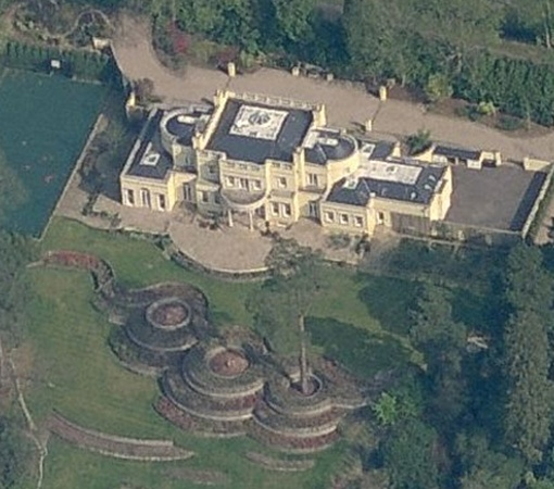 Дом Шевченко в Англии стоимостью 12 миллионов долларов.
