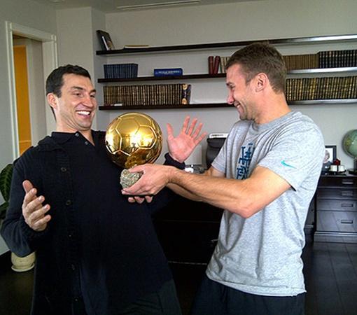 Кличко-младший побывал в киевской квартире Андрея.