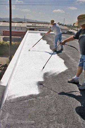 В Калифорнии охлаждать Землю начали с крыш.