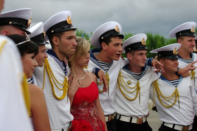 В Севастополе провели Кадетский бал