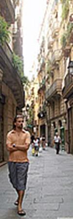 Готический квартал Барселоны.