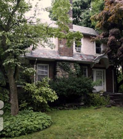 В этом доме жили «русские шпионы».