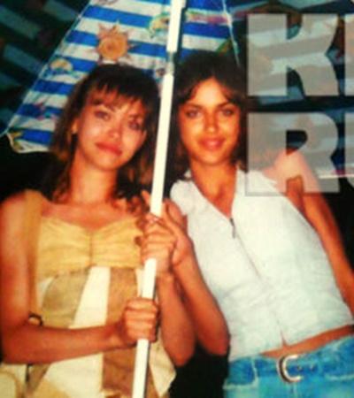 16-летняя Ирина Шайхлисламова (справа, в синих шортах) со своей сестрой Таней.