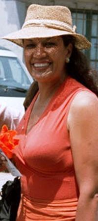 Журналистка Вики Пелаес, освобожденная нью-йоркским судом под залог.