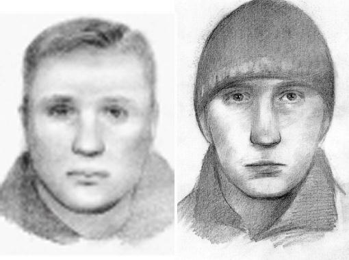 Фотороботы подозреваемых в совершении теракта 11 апреля 2011 года... (Тот, кто привел бомбу в действие, предположительно - справа.)