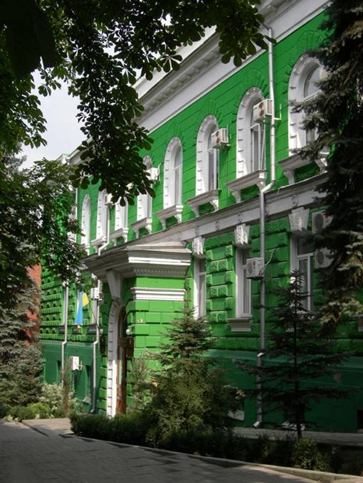Областной прокуратуре здание досталось от суда. Фото с сайта gorod.dp.ua