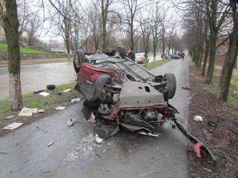 В аварии погиб один человек. Фото: 0629.