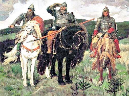 «Богатыри». 1898 г.