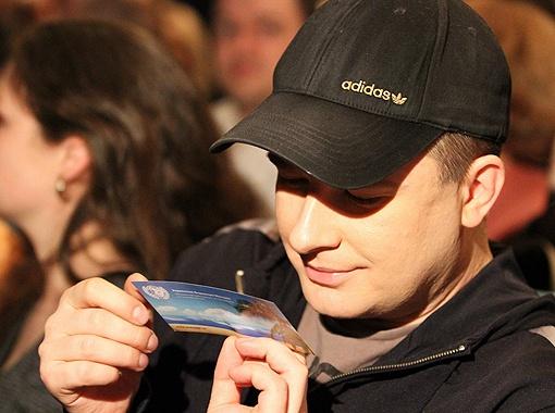 Андрей Данилко смотрел концерт в первом ряду.